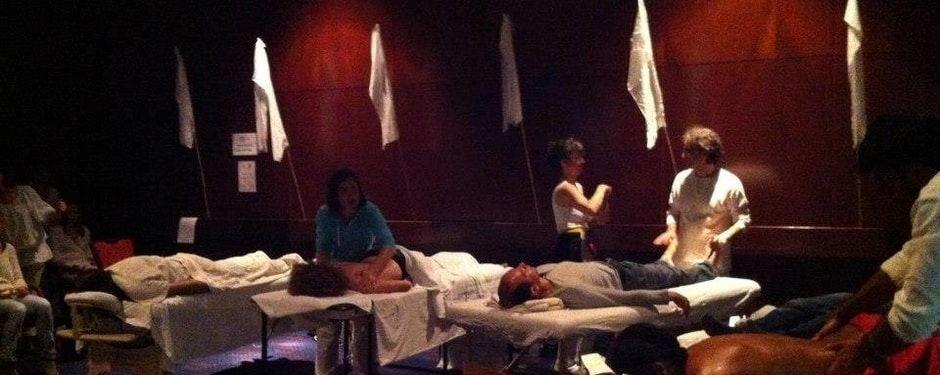 Massage voor bedrijven